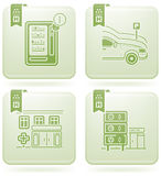 service för hotell info Arkivfoto