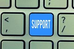 Service för ordhandstiltext Affärsidé för Give service för hjälphjälp yrkesmässig rådgivninghjälp någon arkivfoto