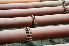 service för stålstruktur Royaltyfri Fotografi