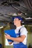 service för utbyte för bunkebilelevator lyftolja Royaltyfri Fotografi