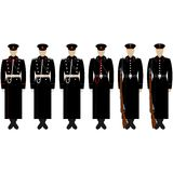 The service form the Marine Corps of Engineers Royalty Free Stock Photo