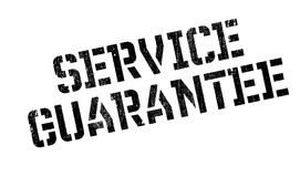 Service Guarantee rubber stamp. Grunge design with dust scratches. Effects can be easily removed for a clean, crisp look. Color is easily changed Royalty Free Stock Image