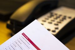Service hôtelier images libres de droits