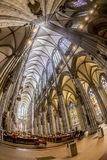 Service held in Central nave Royalty Free Stock Image