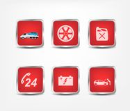 Service icons Stock Photo