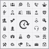 Service icons universal set Royalty Free Stock Image