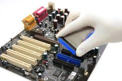Service informatique Image stock