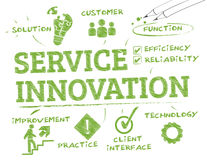 Service innovation1 Stock Photography