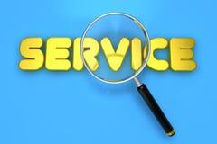 Service letter Stock Photos
