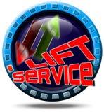 Service lift Royalty Free Stock Photos