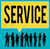 Service Loyalty Strategy Customer Help Concept Stock Photography