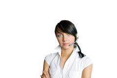 Service-Mädchen stockbilder