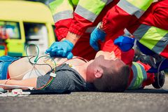 Service médical de secours photos libres de droits