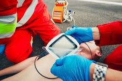 Service médical de secours Images stock