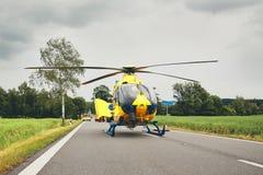 Service médical de secours photo stock
