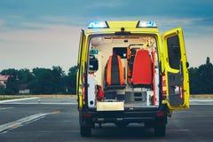 Service médical de secours image libre de droits