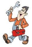 Service man Stock Photo