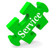 Service Means Help Support And Assistance. Service Meaning Help Support Maintenance And Assistance Royalty Free Stock Photos