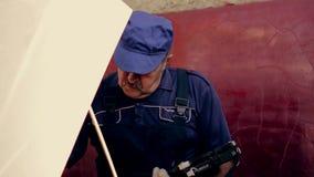 Service och reparation, datordiagnostik: a arkivfilmer