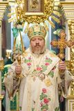 Service in the Orthodox Church Royalty Free Stock Photography