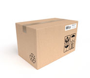 Service of packages Royalty Free Stock Image