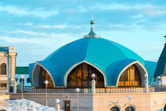 Service pavilion on territory of Kazan Kremlin in Tatarstan, Russia Stock Photography