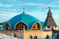 Service pavilion on territory of Kazan Kremlin in Tatarstan, Russia Royalty Free Stock Image