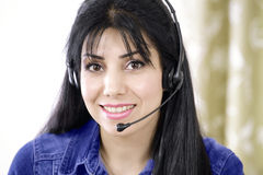 Service on phone Royalty Free Stock Photo