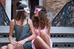 Service photographique des modèles à Venise photographie stock libre de droits
