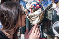 Service photographique des modèles à Venise images stock
