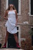 Service photographique des modèles à Venise Photo stock