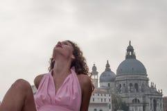 Service photographique des modèles à Venise photographie stock