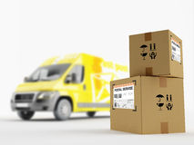 Service postal Photos stock