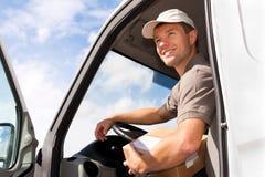 Service postal - la distribution d'un module Image libre de droits