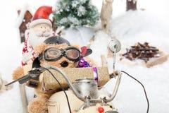 Service rapide de cadeau de Noël photographie stock