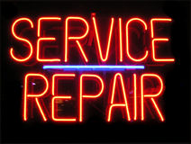 Service Repair Stock Images