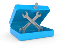 Service and repair tools Royalty Free Stock Images