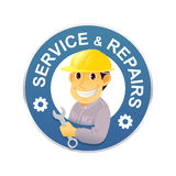 Service and repairs Royalty Free Stock Photo