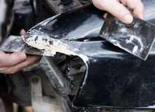 Service reparing de voiture photo stock