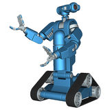 Service Robot Royalty Free Stock Image
