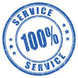 Service rubber vector stamp Stock Photo
