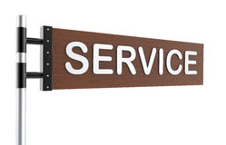 Service sign Royalty Free Stock Photo