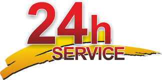 Service sign Stock Photography