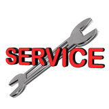 Service Spaner Royalty Free Stock Photos