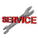 Service Spaner Royalty Free Stock Photos