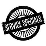 Service Specials rubber stamp Royalty Free Stock Photo