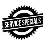 Service Specials rubber stamp Royalty Free Stock Photography