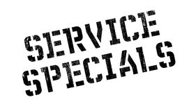 Service Specials rubber stamp Royalty Free Stock Photos