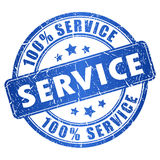 Service stamp Stock Photography