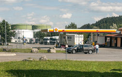 Service station in Germany Stock Photos